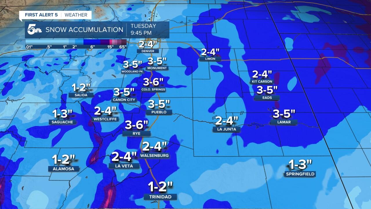 Snow Accumulation Forecast
