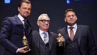 Leonardo DiCaprio pranks Jonah Hill in New York City