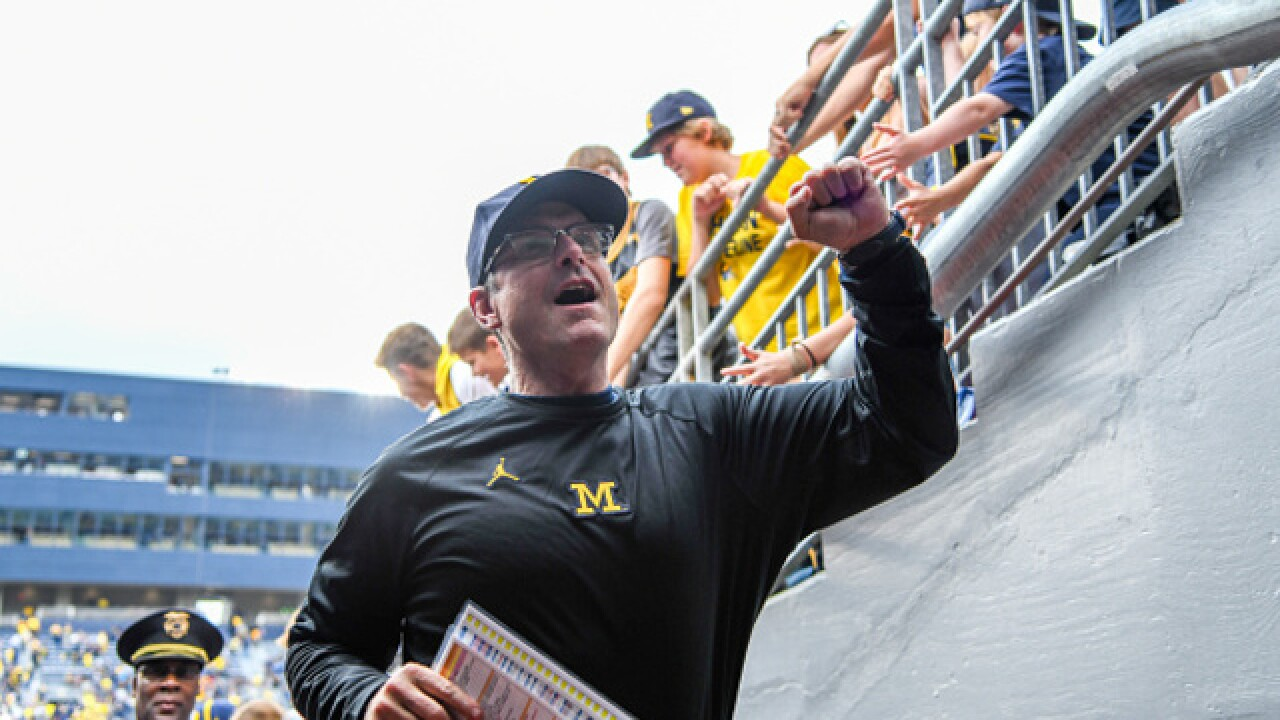 Watch: Harbaugh's Monday presser after U-M's win