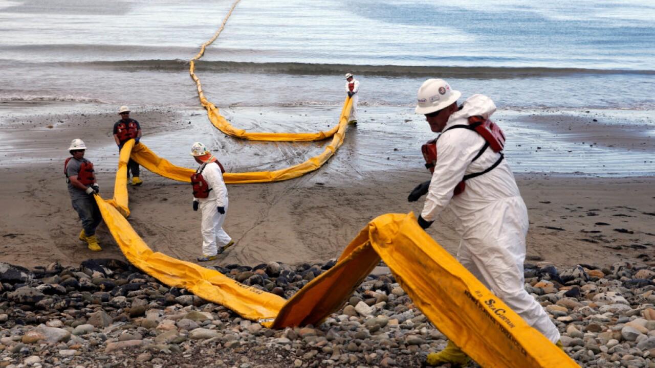 California-Oil Spill