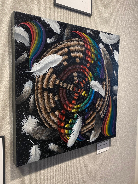 Indigenous women's art on display in Bigfork