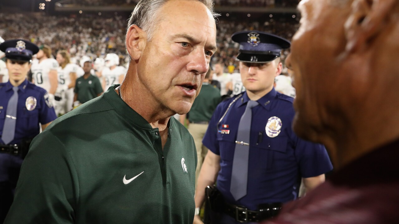 Mark_Dantonio_Michigan State v Arizona State