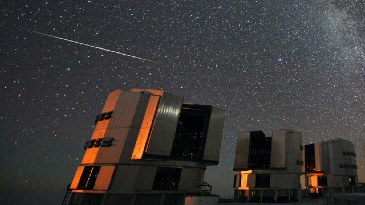TONIGHT: Perseid Meteor shower could be best yet