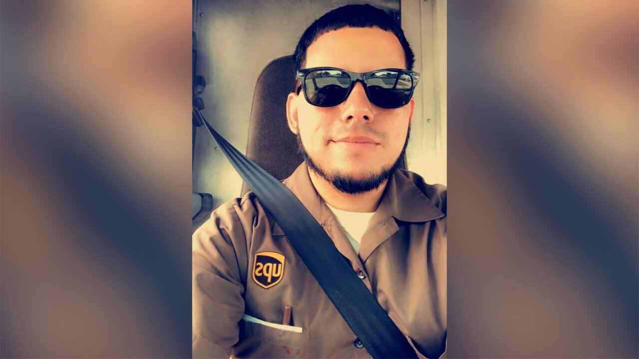 UPS employee killed after robbery suspects hijacked truck was covering route for driver, brother says