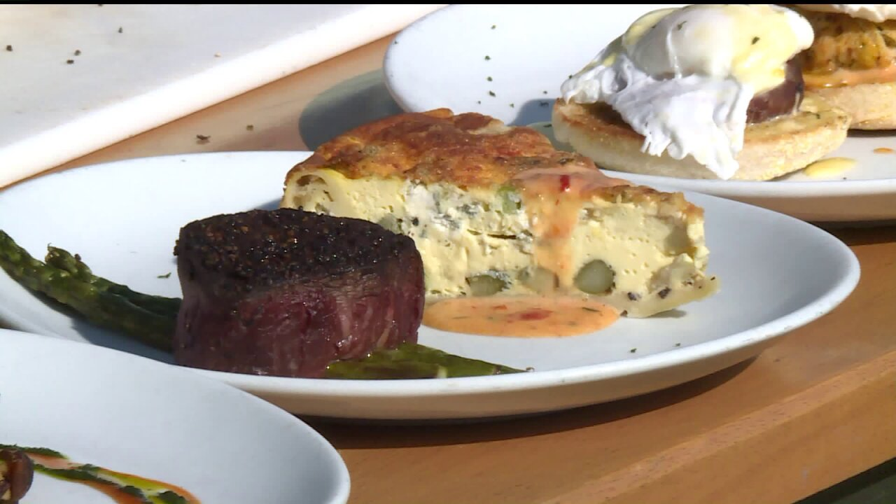 Steak & VeggieQuiche