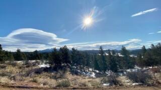Florissant, CO lenticular cloud