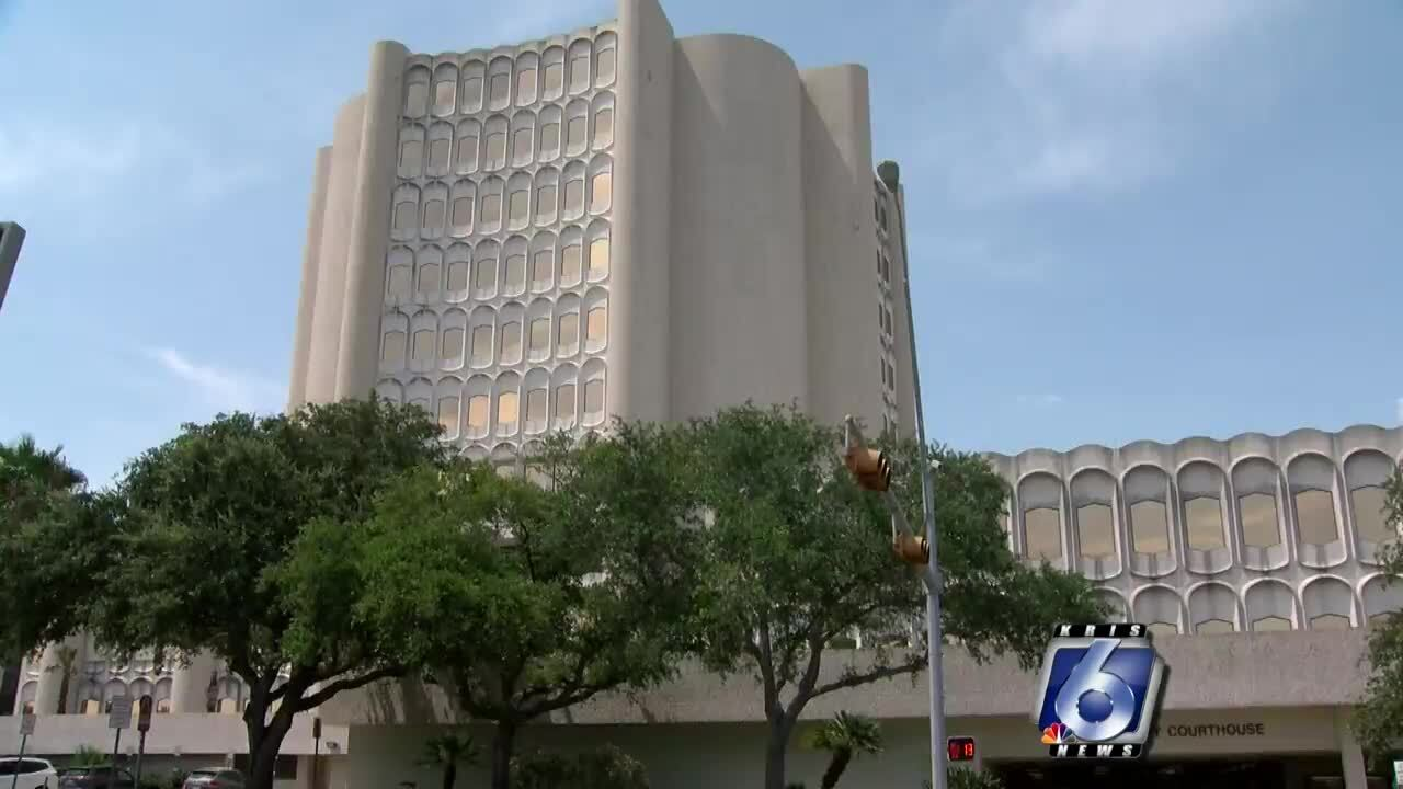The Nueces County Courthouse