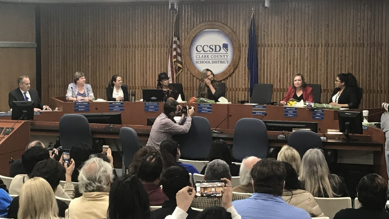 New trustee details vision for Clark County School District