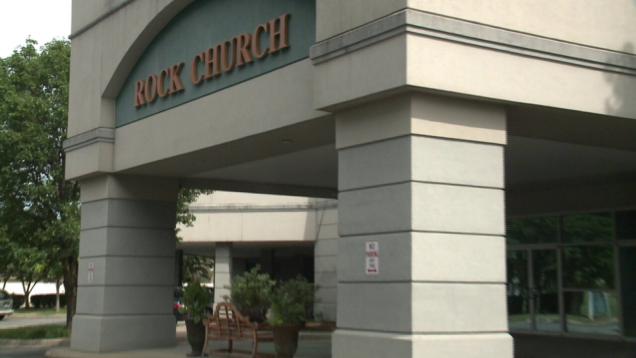 Crews prepare local church for 'VB Remembers' eventThursday