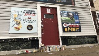 Tequila KC memorial outside