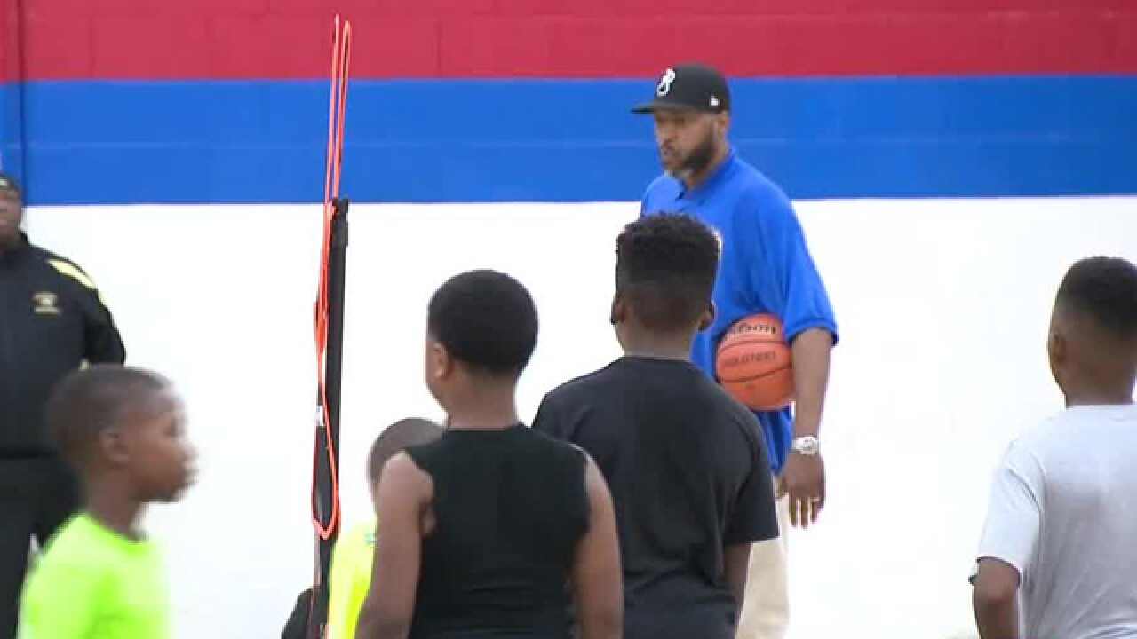 NBA Star From Nashville Encourages Local Youth