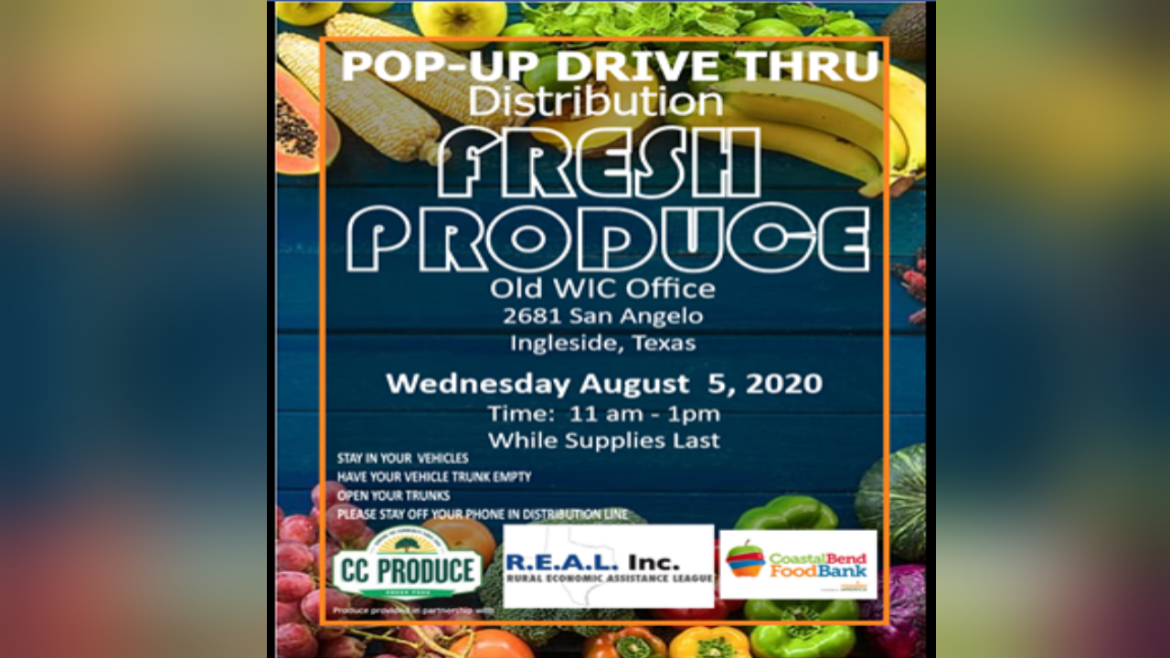 Free food drive set Wednesday in Ingleside