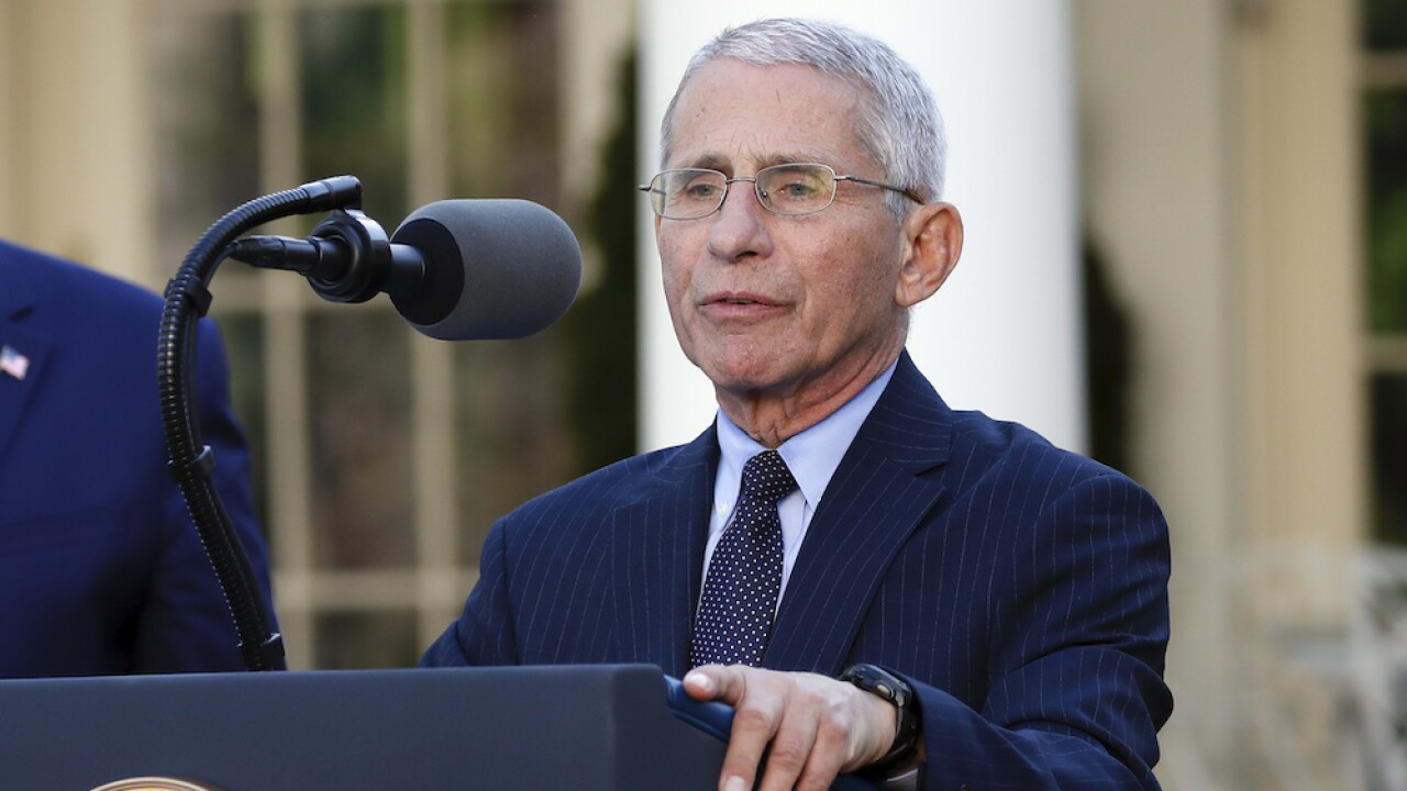Fauci, other top health experts to testify at Senate hearing Tuesday