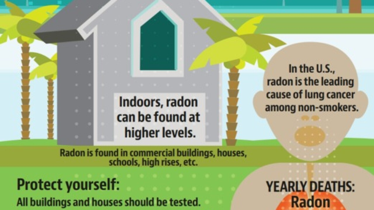 How to get a free radon test kit from the Florida Department of Health