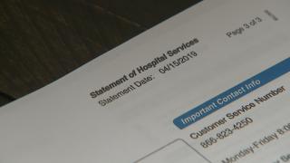 Surprise hospital bill