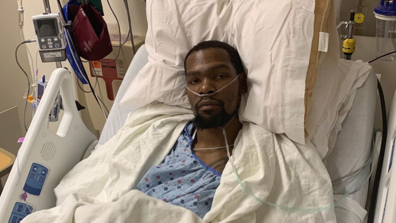 Kevin Durant undergoes surgery on ruptured Achilles