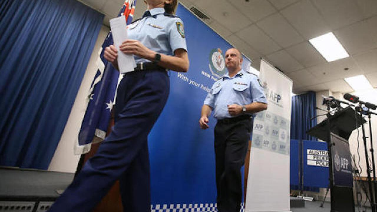 Man charged with terrorism after stabbing in Sydney
