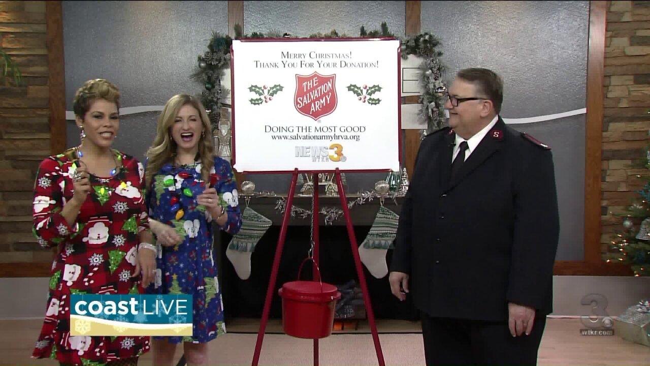 The Red Kettle Campaign on CoastLive