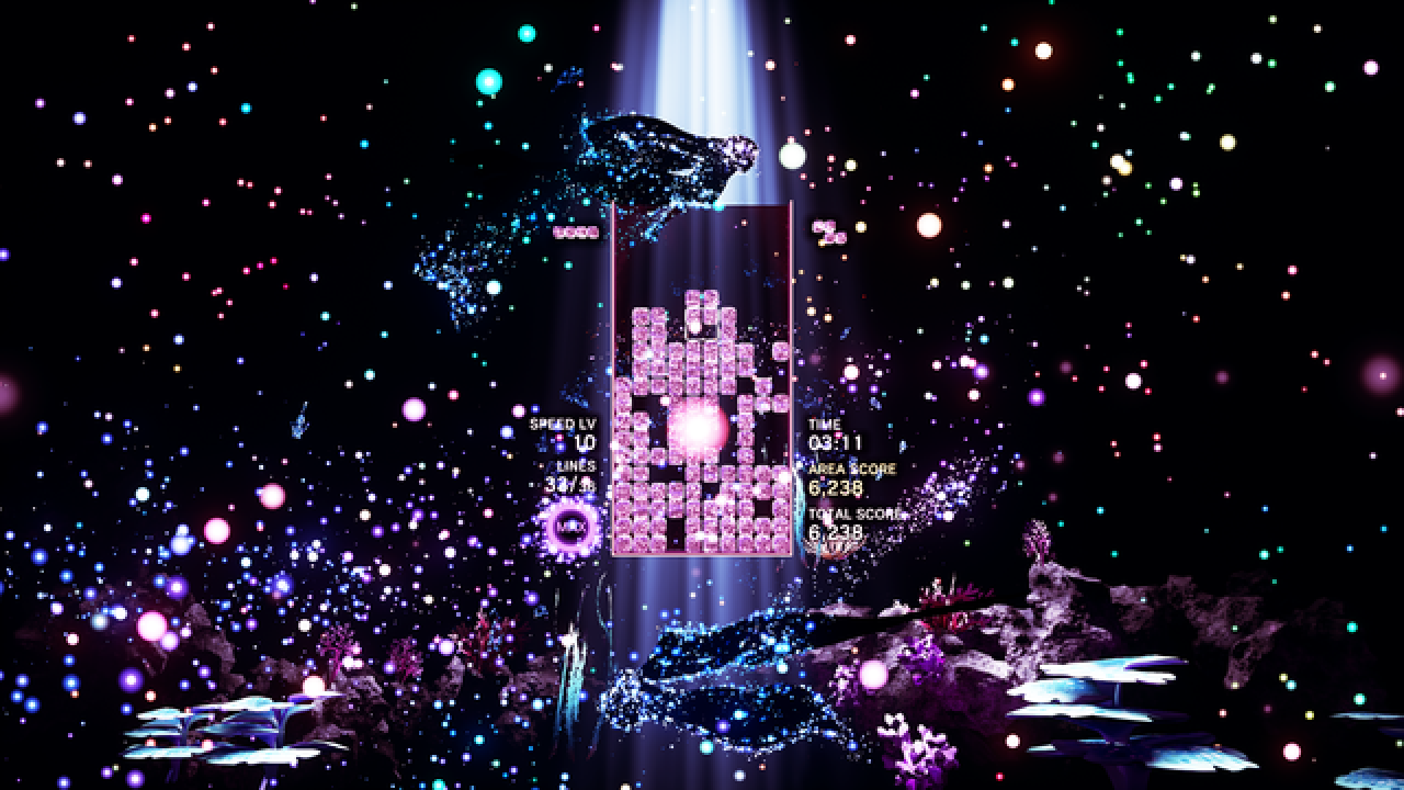 GAME REVIEW: Tetris Effect