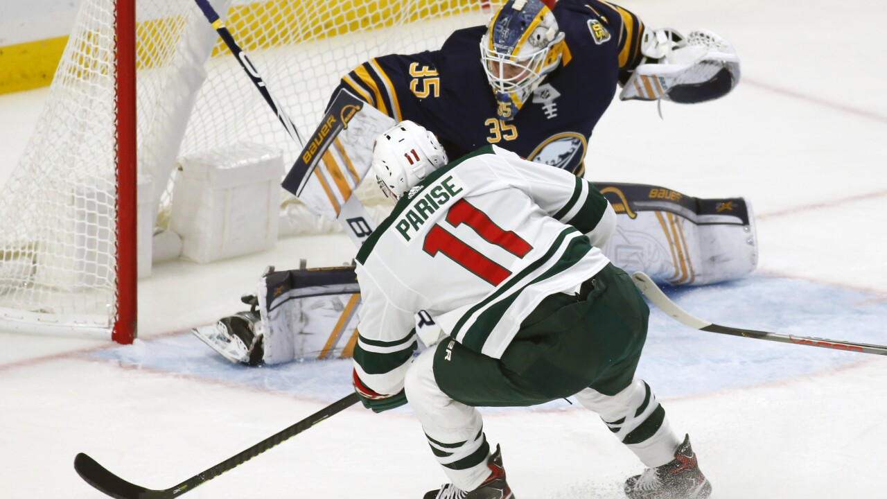 Sabres fall to Wild, suffer eighth loss in last nine games