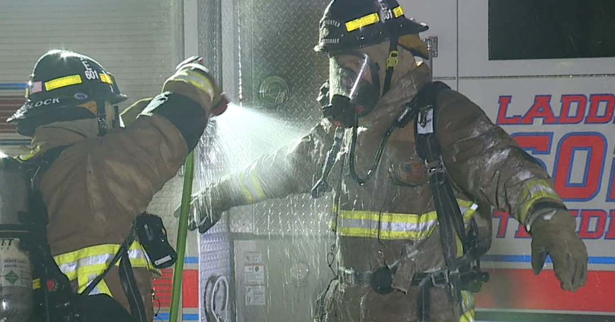 Firefighters across the Valley getting wash down kits