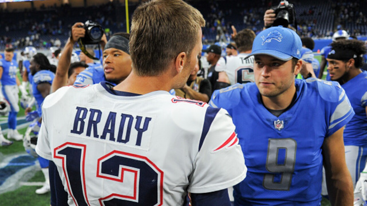 Matthew Stafford on Tom Brady: 'No doubt he's a Hall of Famer'