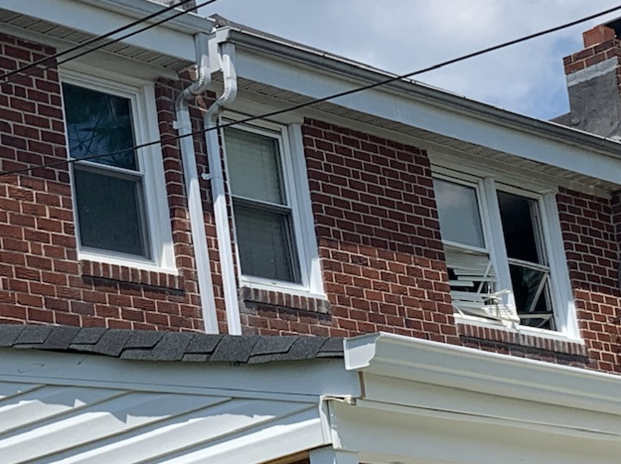 Windows blown out at homes from deadly gas explosion
