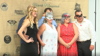 This year's event was a butterfly-themed masquerade gala at the Octagon Barn in San Luis Obispo.