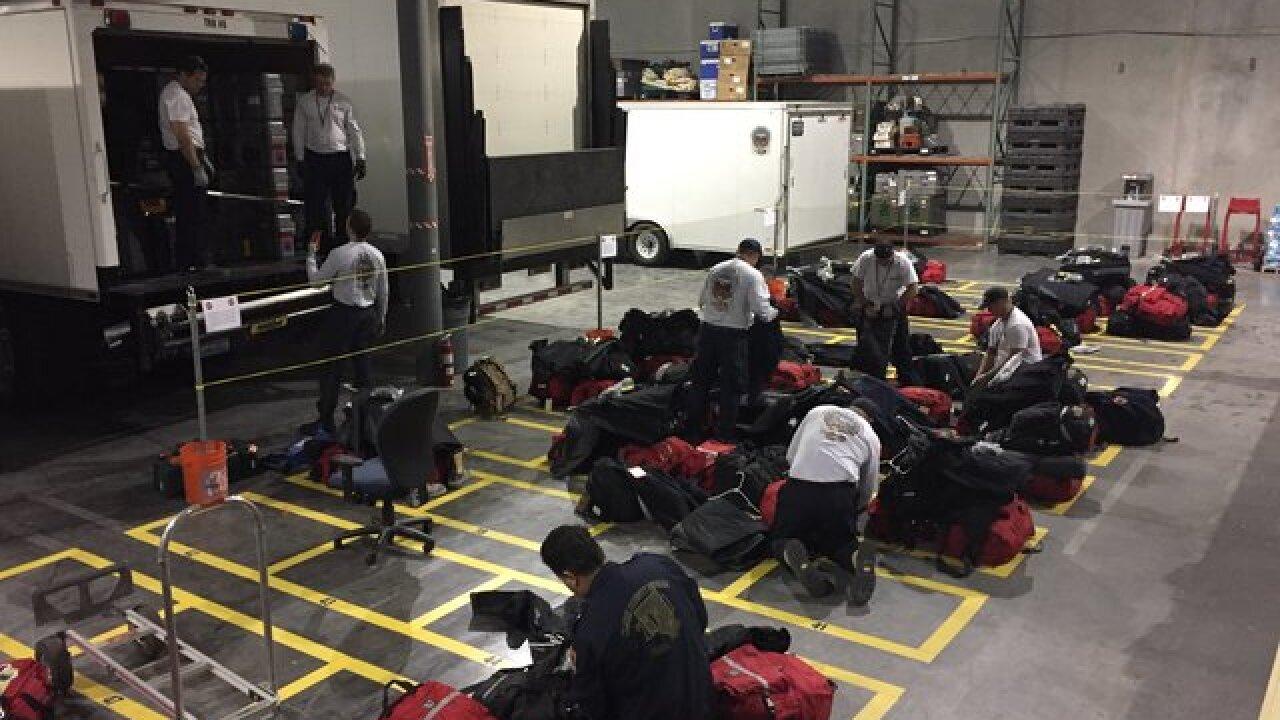 Nevada Task Force 1 heading to Florida for Irma