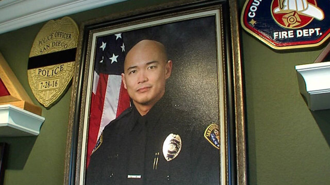 San Diego police Officer Jonathan 'JD' De Guzman