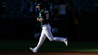 A's beat Tigers in game resumed nearly four months later