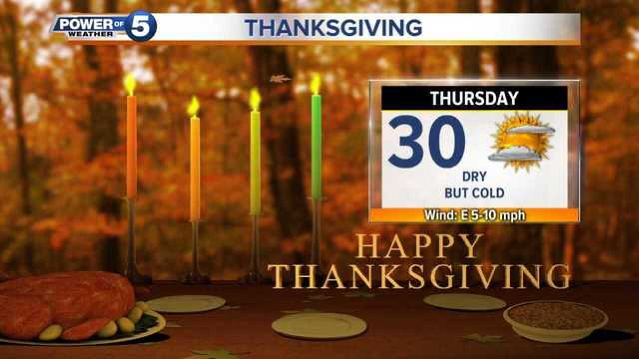 Here's what your Thanksgiving drive will be like