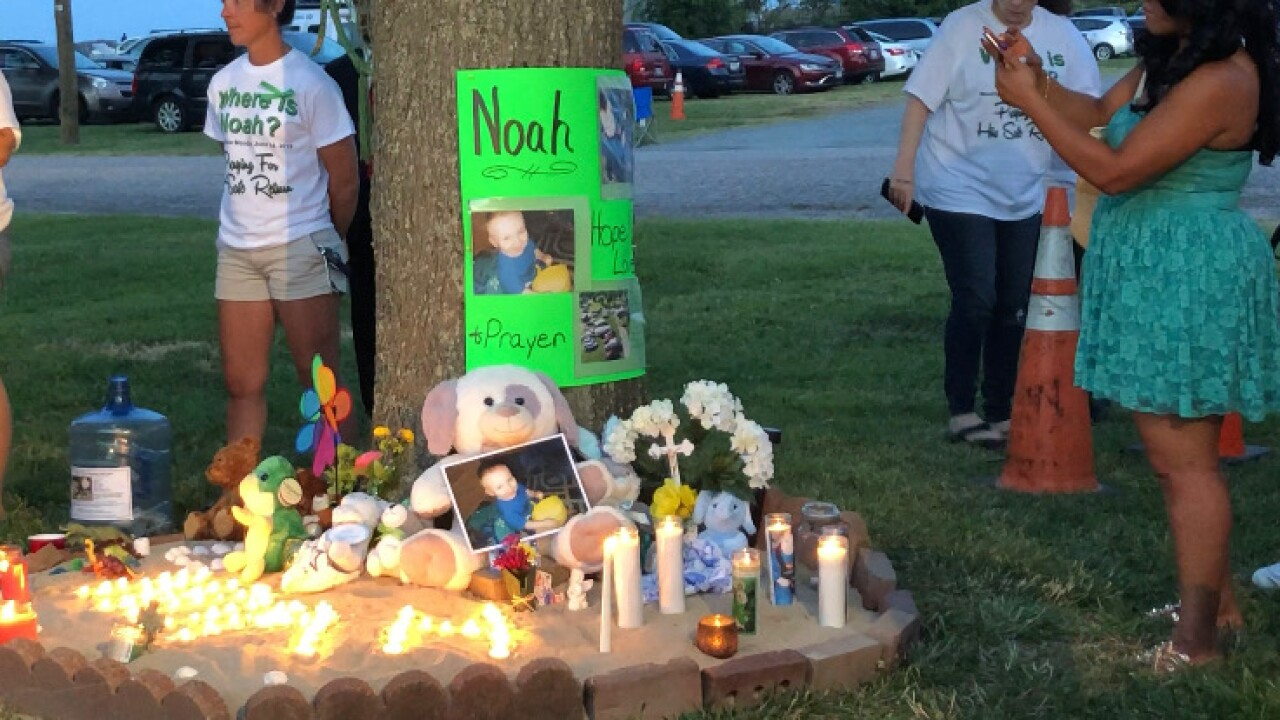Buckroe community holds vigil demanding 'Justice for Noah'