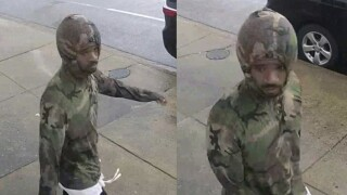 Baltimore Police looking for suspect in burglary of auto repair shop