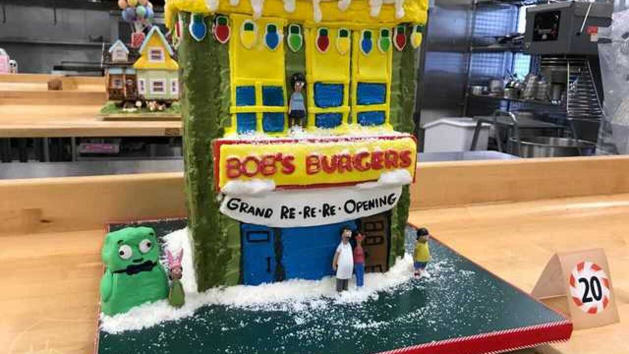 Milwaukee Area Technical Colleges Gingerbread Houses On Display