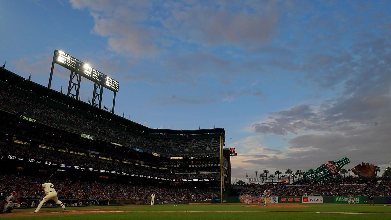 Washington Nationals  v San Francisco Giants