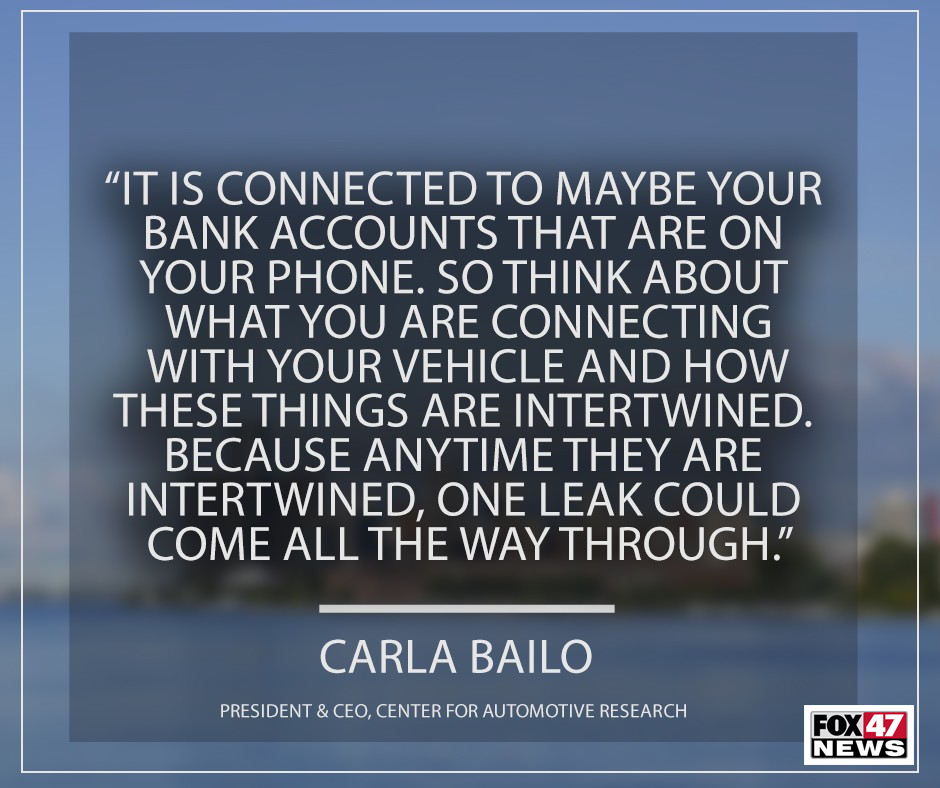 Carla Bailo, President & CEO of the Center for Automotive Research
