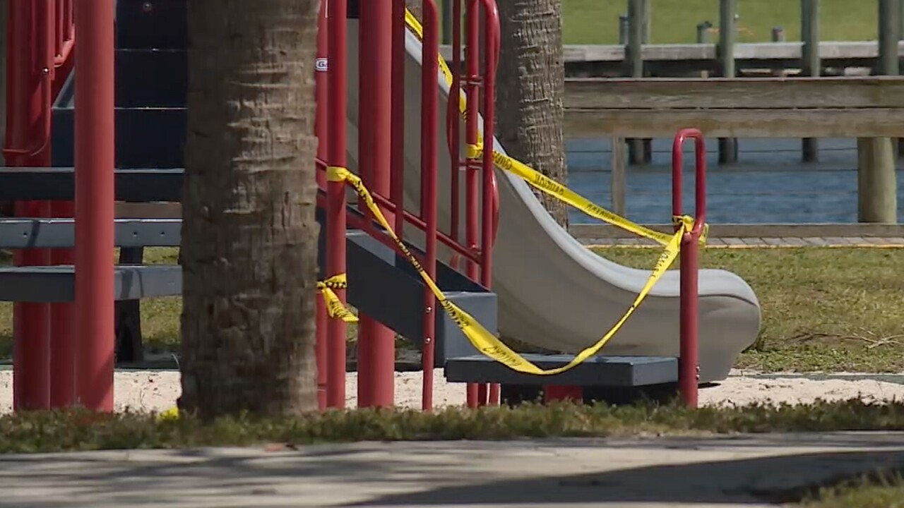 Playgrounds closed in Martin County due to the coronavirus