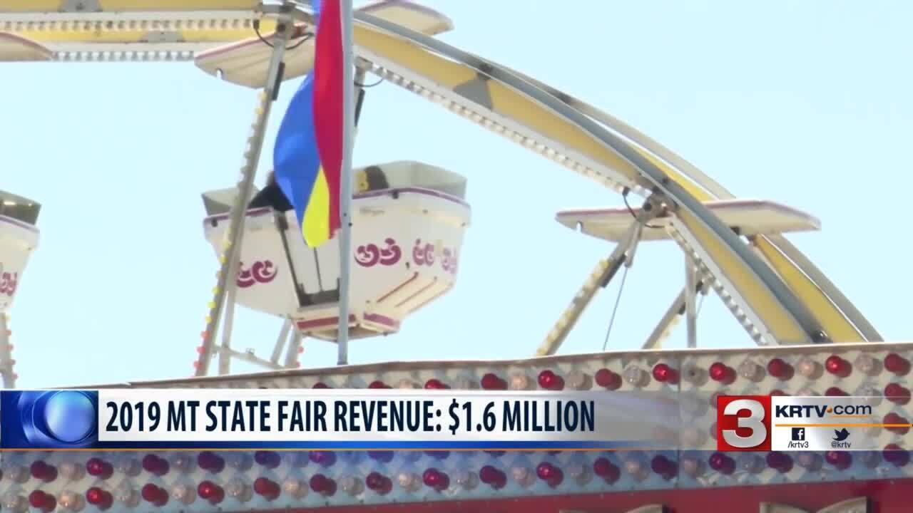 Montana State Fair 2019 Revenue