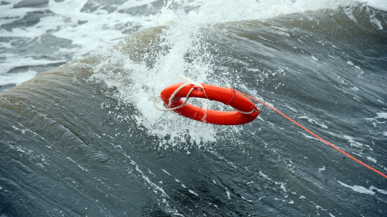 Man rescued from water in Chesapeake