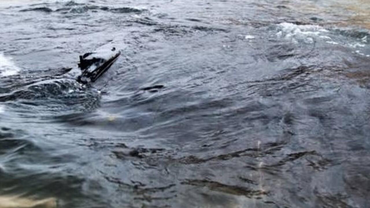 11.30.19 Waves Swirl Around Debris from Shipwreck Still Underwater 2 - Courtesy Rick Vuyst via Facebook.jpg