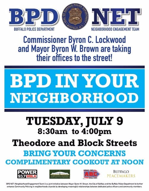 BPD Cookout Flyer