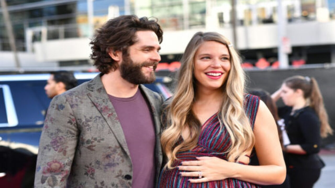 Thomas Rhett And Wife Lauren Akins Just Welcomed A New Baby