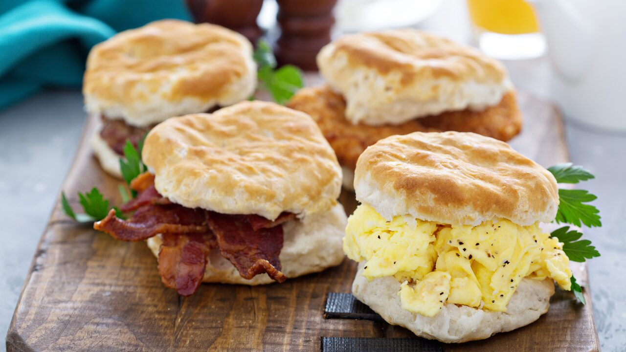 Hardee's is asking fans to create the restaurant's next biscuit sandwich recipe