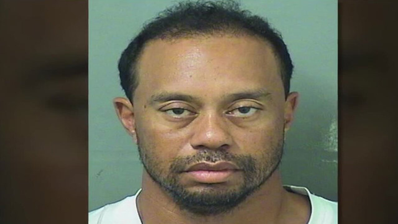 Tiger Woods DUI video released