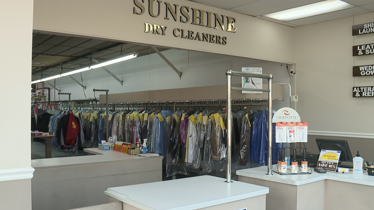 Sunshine Dry Cleaners in Cleveland