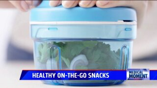 Spectrum Health Medical Moment – Healthy Snacks on the Go