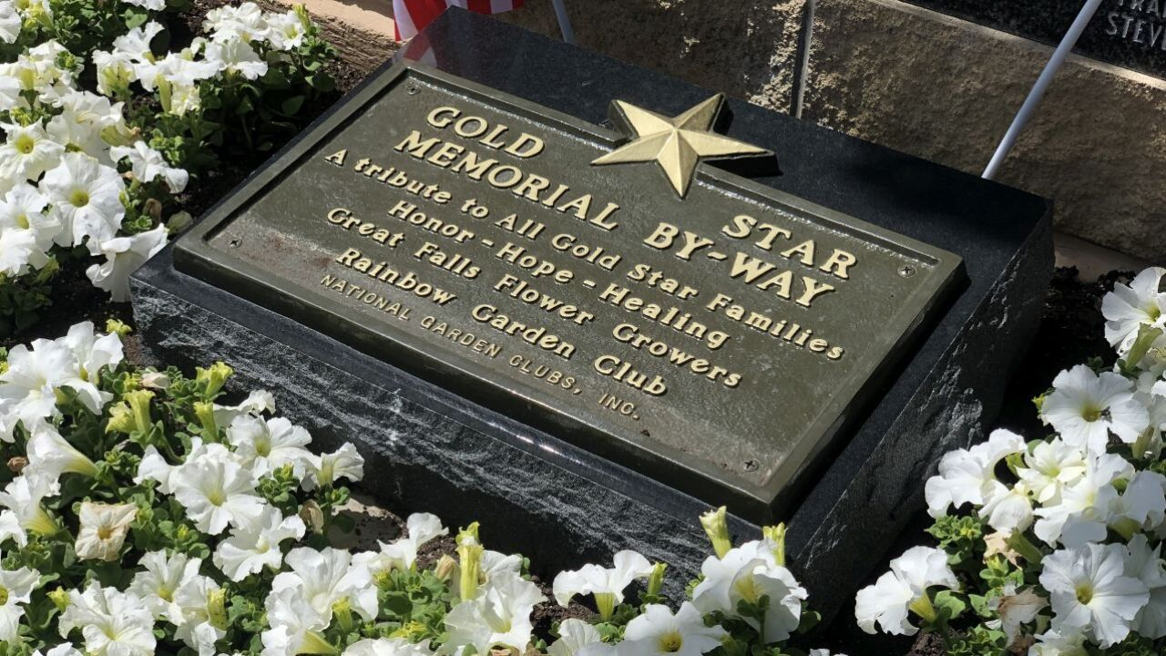 Montana's second Gold Star Memorial installed in Great Falls