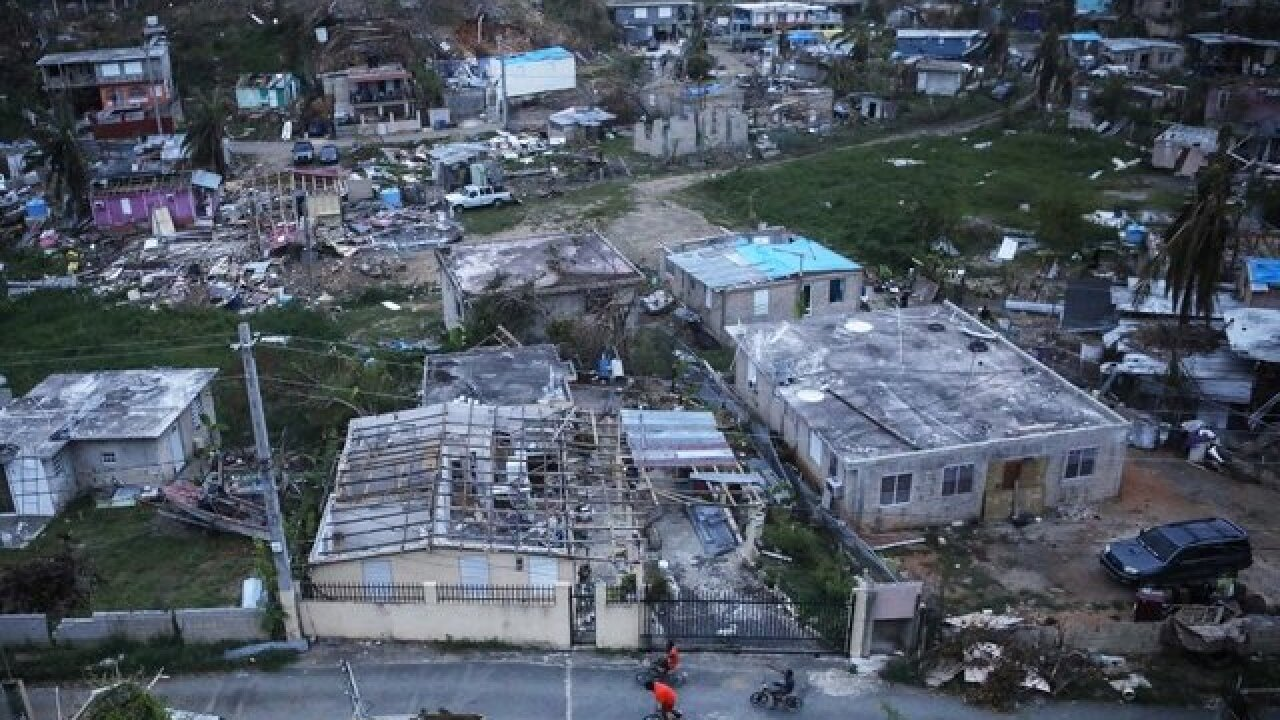 Report: Nearly 3,000 deaths in Puerto Rico linked to Hurricane Maria