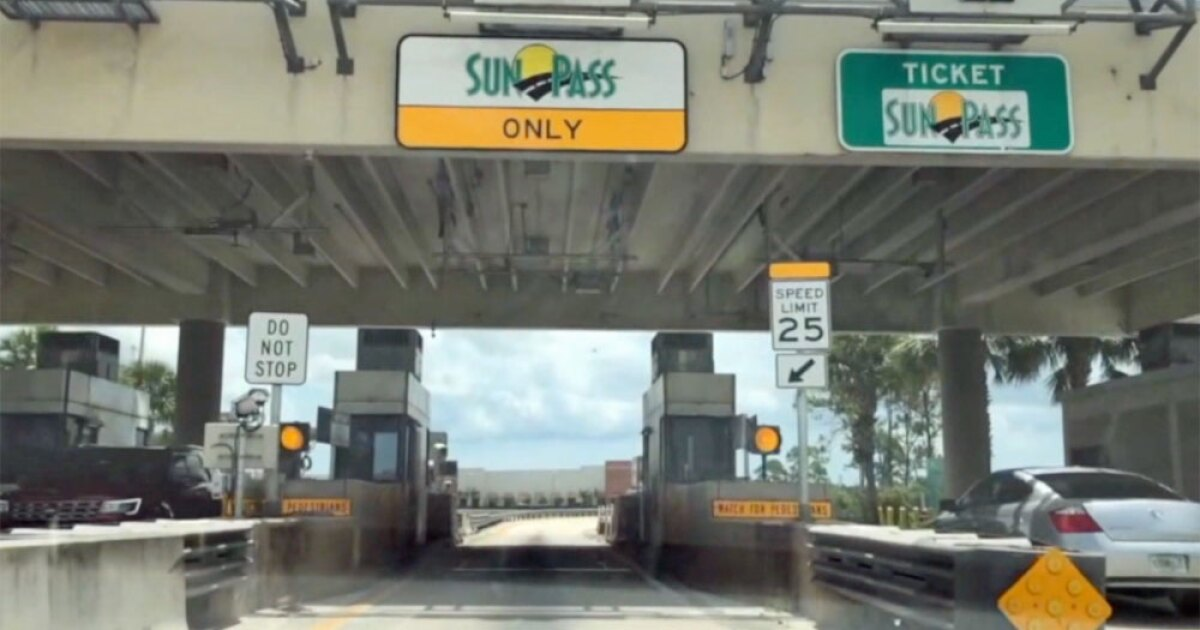SunPass user shares how she got $1,500 toll-by-plate bill down to $76